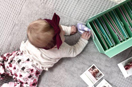 Erinnerungen festhalten: Die Baby Memory Box von Cheerz